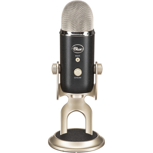 A promotional image of the Blue Yeti Pro
